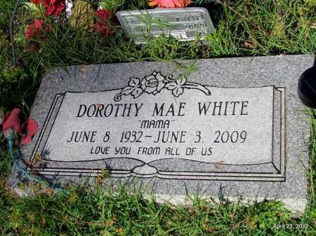 WHITE, DOROTHY MAE - St. Francis County, Arkansas | DOROTHY MAE WHITE - Arkansas Gravestone Photos