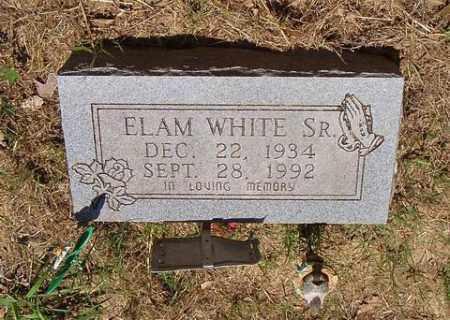 WHITE, ELAM - St. Francis County, Arkansas | ELAM WHITE - Arkansas Gravestone Photos