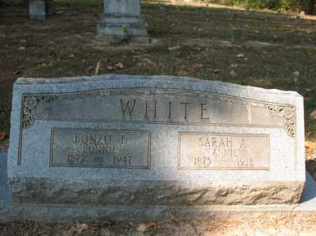 "WHITE, LONZO F ""LONNIE"" - St. Francis County, Arkansas | LONZO F ""LONNIE"" WHITE - Arkansas Gravestone Photos"
