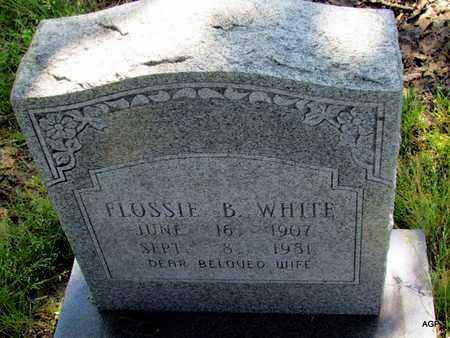 WHITE, FLOSSIE B - St. Francis County, Arkansas | FLOSSIE B WHITE - Arkansas Gravestone Photos