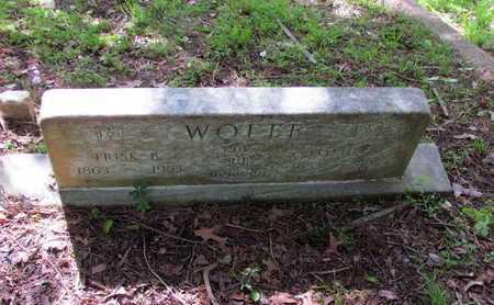WOLFE, LOTTIE S - St. Francis County, Arkansas | LOTTIE S WOLFE - Arkansas Gravestone Photos