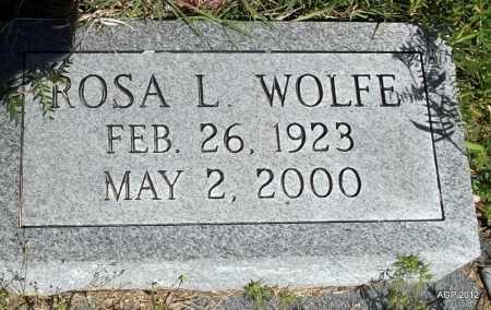 WOLFE, ROSA L - St. Francis County, Arkansas | ROSA L WOLFE - Arkansas Gravestone Photos