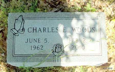 WOODS, CHARLES E - St. Francis County, Arkansas | CHARLES E WOODS - Arkansas Gravestone Photos