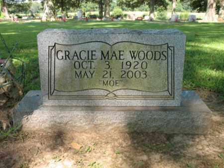 "WOODS, GRACIE MAE  ""MOE"" - St. Francis County, Arkansas | GRACIE MAE  ""MOE"" WOODS - Arkansas Gravestone Photos"