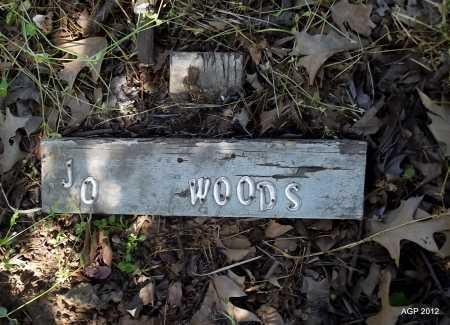 WOODS, JO - St. Francis County, Arkansas | JO WOODS - Arkansas Gravestone Photos