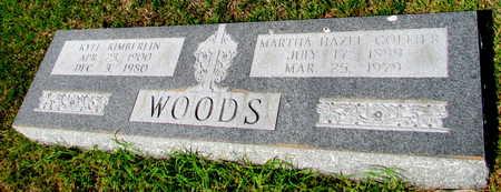 WOODS, MARTHA HAZEL - St. Francis County, Arkansas | MARTHA HAZEL WOODS - Arkansas Gravestone Photos