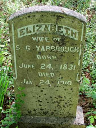 YARBROUGH, ELIZABETH - St. Francis County, Arkansas   ELIZABETH YARBROUGH - Arkansas Gravestone Photos