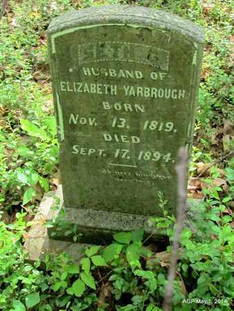 YARBROUGH, SETH G. - St. Francis County, Arkansas   SETH G. YARBROUGH - Arkansas Gravestone Photos