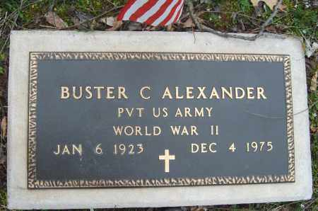 ALEXANDER (VETERAN WWII), BUSTER - Stone County, Arkansas | BUSTER ALEXANDER (VETERAN WWII) - Arkansas Gravestone Photos