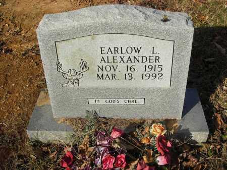 ALEXANDER, EARLOW L - Stone County, Arkansas   EARLOW L ALEXANDER - Arkansas Gravestone Photos