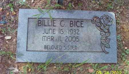 BICE, BILLIE - Stone County, Arkansas | BILLIE BICE - Arkansas Gravestone Photos