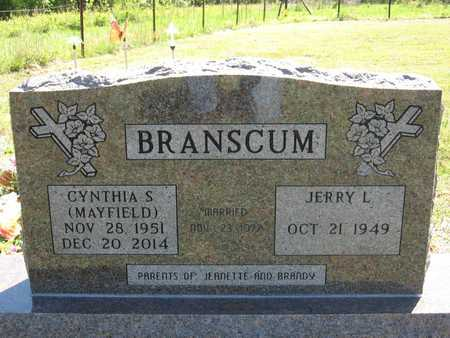 BRANSCUM, CYNTHIA SUE - Stone County, Arkansas | CYNTHIA SUE BRANSCUM - Arkansas Gravestone Photos