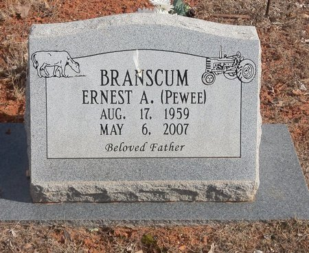 """BRANSCUM, ERNEST A. """"PEWEE"""" - Stone County, Arkansas   ERNEST A. """"PEWEE"""" BRANSCUM - Arkansas Gravestone Photos"""