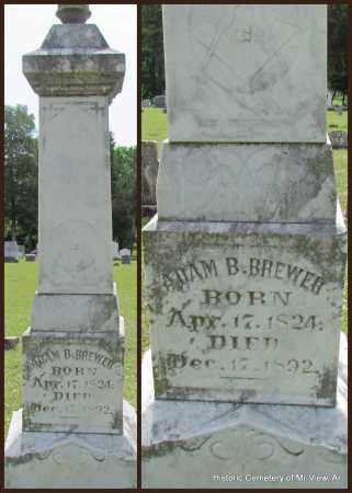 BREWER, ADAM B - Stone County, Arkansas | ADAM B BREWER - Arkansas Gravestone Photos