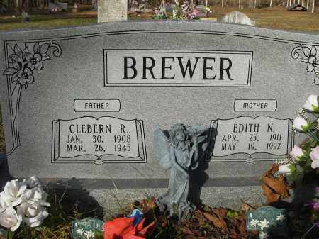 BREWER, CLEBERN - Stone County, Arkansas   CLEBERN BREWER - Arkansas Gravestone Photos