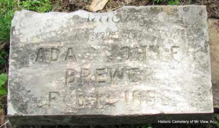 BREWER, DAUGHTER - Stone County, Arkansas | DAUGHTER BREWER - Arkansas Gravestone Photos