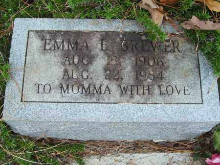 BREWER, EMMA - Stone County, Arkansas | EMMA BREWER - Arkansas Gravestone Photos