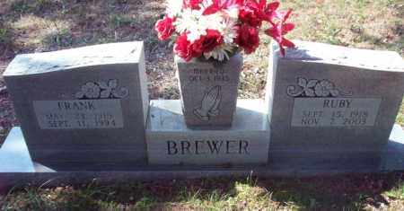 BREWER, RUBY - Stone County, Arkansas | RUBY BREWER - Arkansas Gravestone Photos