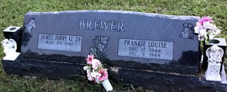 BREWER, FRANKIE LOUISE - Stone County, Arkansas | FRANKIE LOUISE BREWER - Arkansas Gravestone Photos
