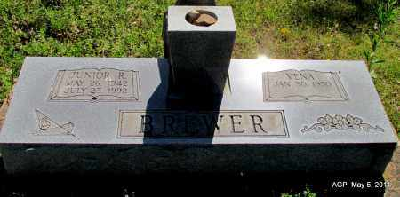 BREWER, JUNIOR R - Stone County, Arkansas | JUNIOR R BREWER - Arkansas Gravestone Photos