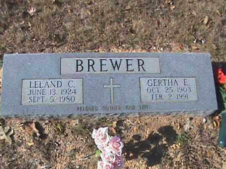 BREWER, LELAND C - Stone County, Arkansas | LELAND C BREWER - Arkansas Gravestone Photos