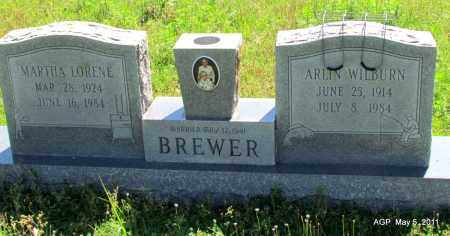 BREWER, ARLIN WILBURN - Stone County, Arkansas | ARLIN WILBURN BREWER - Arkansas Gravestone Photos