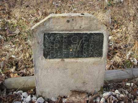 BREWER, MARGARET - Stone County, Arkansas   MARGARET BREWER - Arkansas Gravestone Photos