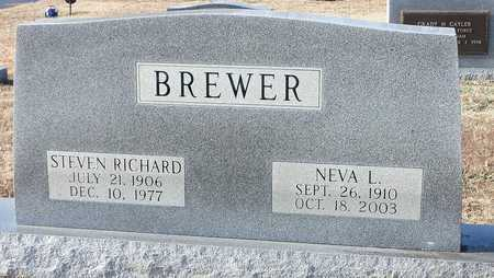 BREWER, NEVA L. - Stone County, Arkansas | NEVA L. BREWER - Arkansas Gravestone Photos