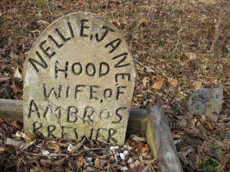 BREWER, NELLIE JANE - Stone County, Arkansas | NELLIE JANE BREWER - Arkansas Gravestone Photos