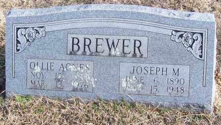 BREWER, OLLIE AGNES - Stone County, Arkansas | OLLIE AGNES BREWER - Arkansas Gravestone Photos