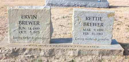 BREWER, RETTIE - Stone County, Arkansas | RETTIE BREWER - Arkansas Gravestone Photos