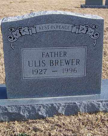 BREWER, ULIS - Stone County, Arkansas | ULIS BREWER - Arkansas Gravestone Photos