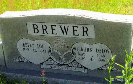 BREWER, WILBURN DELOY - Stone County, Arkansas | WILBURN DELOY BREWER - Arkansas Gravestone Photos