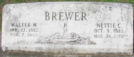 BREWER, WALTER M - Stone County, Arkansas   WALTER M BREWER - Arkansas Gravestone Photos