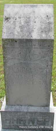 BREWER, W A - Stone County, Arkansas   W A BREWER - Arkansas Gravestone Photos