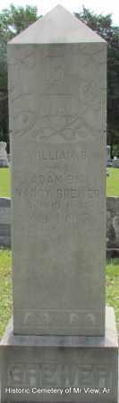 BREWER, WILLIAM R - Stone County, Arkansas | WILLIAM R BREWER - Arkansas Gravestone Photos