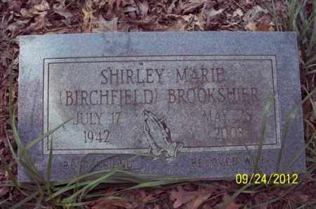BIRCHFIELD BROOKSHIER, SHIRLEY MARIE - Stone County, Arkansas | SHIRLEY MARIE BIRCHFIELD BROOKSHIER - Arkansas Gravestone Photos