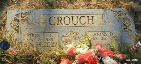 CROUCH, VIRDELL C - Stone County, Arkansas | VIRDELL C CROUCH - Arkansas Gravestone Photos