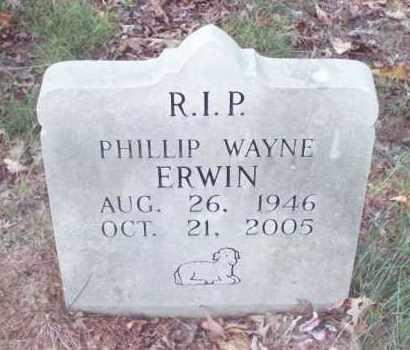 ERWIN, PHILLIP - Stone County, Arkansas | PHILLIP ERWIN - Arkansas Gravestone Photos