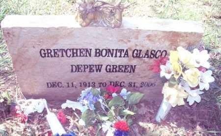 DEPEW GREEN, GRETCHEN BONITA - Stone County, Arkansas | GRETCHEN BONITA DEPEW GREEN - Arkansas Gravestone Photos