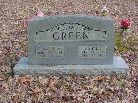 GREEN, MAHALA - Stone County, Arkansas   MAHALA GREEN - Arkansas Gravestone Photos