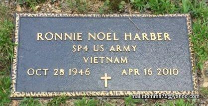 HARBER (VETERAN VIET), RONNIE - Stone County, Arkansas   RONNIE HARBER (VETERAN VIET) - Arkansas Gravestone Photos