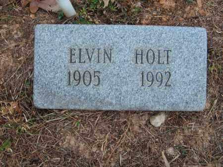 HOLT, ELVIN - Stone County, Arkansas   ELVIN HOLT - Arkansas Gravestone Photos