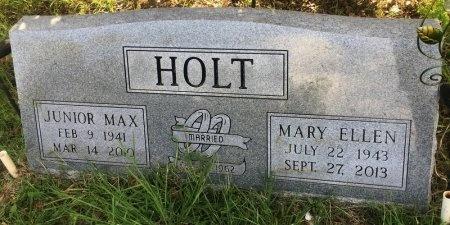 HOLT, JUNIOR MAX - Stone County, Arkansas | JUNIOR MAX HOLT - Arkansas Gravestone Photos