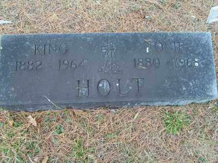 HOLT, KING - Stone County, Arkansas   KING HOLT - Arkansas Gravestone Photos