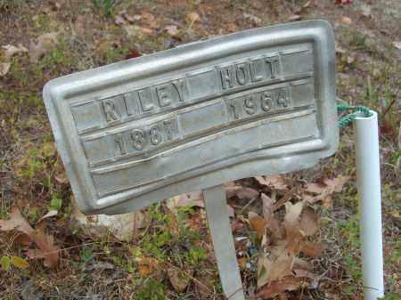 HOLT, RILEY - Stone County, Arkansas   RILEY HOLT - Arkansas Gravestone Photos