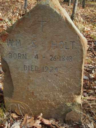 HOLT, WILLIAM S. - Stone County, Arkansas   WILLIAM S. HOLT - Arkansas Gravestone Photos
