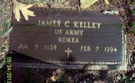 KELLEY (VETERAN KOR), JAMES C - Stone County, Arkansas | JAMES C KELLEY (VETERAN KOR) - Arkansas Gravestone Photos