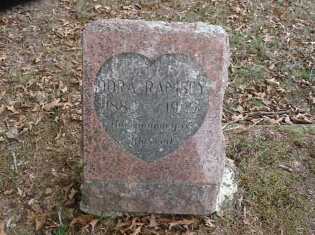 RAMSEY, DORA B. - Stone County, Arkansas | DORA B. RAMSEY - Arkansas Gravestone Photos
