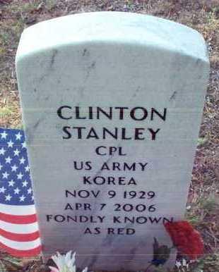 "STANLEY (VETERAN KOR), CLINTON ""RED"" - Stone County, Arkansas | CLINTON ""RED"" STANLEY (VETERAN KOR) - Arkansas Gravestone Photos"